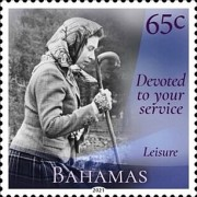 [Devoted to Your Service - The 95th Anniversary of the Birth of Queen Elizabeth II, type BFV]