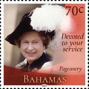 [Devoted to Your Service - The 95th Anniversary of the Birth of Queen Elizabeth II, type BFW]