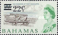 [Local Motives & Queen Elizabeth - Surcharged with Decimal Currency, Typ CJ1]