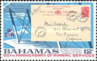 [The 50th Anniversary of Bahamas Airmail Services, Typ EH]