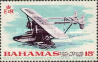 [The 50th Anniversary of Bahamas Airmail Services, Typ EI]