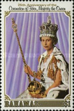 [The 25th Anniversary of Coronation of Queen Elizabeth II, Typ JW]