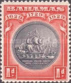 [The 300th Anniversary of the Colony, type P]