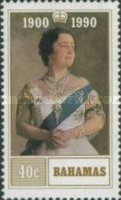[The 90th Anniversary of the Birth of Queen Elizabeth the Queen Mother, Typ UU]