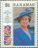 [The 65th Anniversary of the Birth of Queen Elizabeth II & the 70th Anniversary of the Birth of Prince Philip, Typ XA]