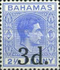 [King George VI - No. 109 Surcharged, type Z]