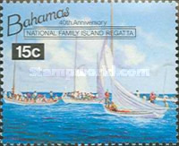 [The 40th Anniversary of National Family Island Regatta, Typ ZW]