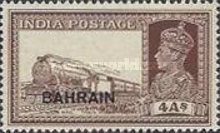 """[Postage Stamps of India Overprinted """"BAHRIAN"""", type C7]"""