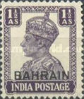 """[Postage Stamps of India Overprinted """"BAHRIAN"""", type D5]"""
