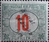 [Hungarian Postage-due Stamps Overprinted