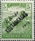 [Hungarian War Charity Stamps Overprinted
