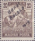 [Hungarian Stamps Overprinted