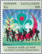 [The 100th Anniversary of Scouting in Bangladesh, type APN]