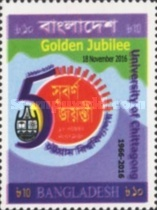 [The 50th Anniversqary of the University of Chittagong, type AQL]
