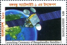 [First Satellite - Bangabandhu-1, type AVK]