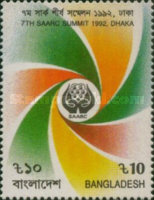 [The 7th South Asian Association for Regional Co-operation Summit Conference, Dhaka, type NO]