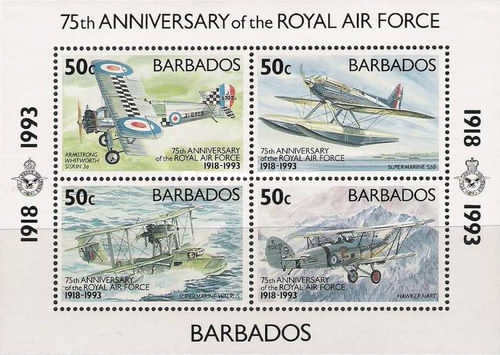 [The 75th Anniversary of the Royal Air Force, Typ ]
