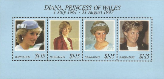 [Diana, Princess of Wales Commemoration, Typ ]