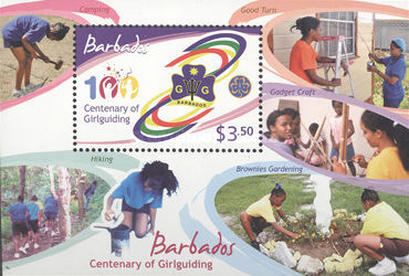 [The 100th Anniversary of Girl Guides, type ]
