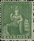 [Britannia - Rough Perforation. Watermarked, type A22]