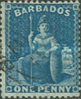 [Britannia - Rough Perforation. Watermarked, type A25]