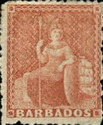 [Britannia - Rough Perforation. Watermarked, type A26]