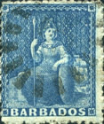 [Britannia - Rough Perforation. Different Watermark: Small Star, type A29]