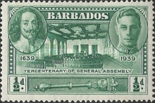 [The 300th Anniversary of the General Assembly of Barbados, type AA]