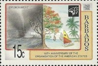 [The 50th Anniversary of Organization of American States, Typ ADV]