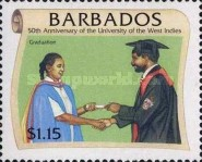 [The 50th Anniversary of University of West Indies, Typ ADZ]