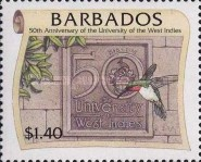 [The 50th Anniversary of University of West Indies, Typ AEA]
