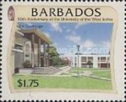 [The 50th Anniversary of University of West Indies, Typ AEB]