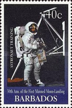 [The 30th Anniversary of First Manned Landing on Moon, Typ AEM]