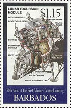 [The 30th Anniversary of First Manned Landing on Moon, Typ AEO]