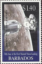 [The 30th Anniversary of First Manned Landing on Moon, Typ AEP]
