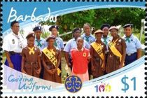 [The 100th Anniversary of Girl Guides, type AZH]