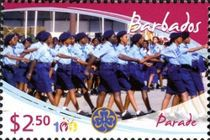 [The 100th Anniversary of Girl Guides, type AZI]