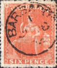 [Britannia - Rough Perforation. Watermarked, Typ B7]