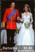 [Royal Wedding - Prince William & Catherine Middleton, Typ BAG]