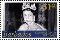 [The 60th Anniversary of the Accesion of Queen Elizabeth, type BAJ]