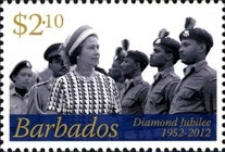 [The 60th Anniversary of the Accesion of Queen Elizabeth, type BAK]