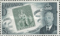[The 100th Anniversary of Barbados Stamps, type CO1]