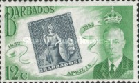[The 100th Anniversary of Barbados Stamps, type CO3]