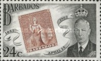 [The 100th Anniversary of Barbados Stamps, type CO4]