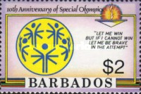 [The 10th Anniversary of Special Olympics, Typ TO]