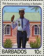 [The 75th Anniversary of Scouting in Barbados, Typ TU]