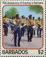 [The 75th Anniversary of Scouting in Barbados, Typ TX]