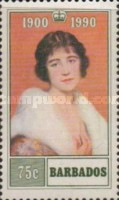 [The 90th Anniversary of the Birth of Queen Elizabeth the Queen Mother, Typ WT]