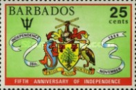 [The 5th Anniversary of Independence, type XHE1]
