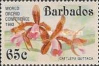 [The 14th World Orchid Conference - Glasgow, UK. Issue of 1992 Overprinted, Typ YP1]
